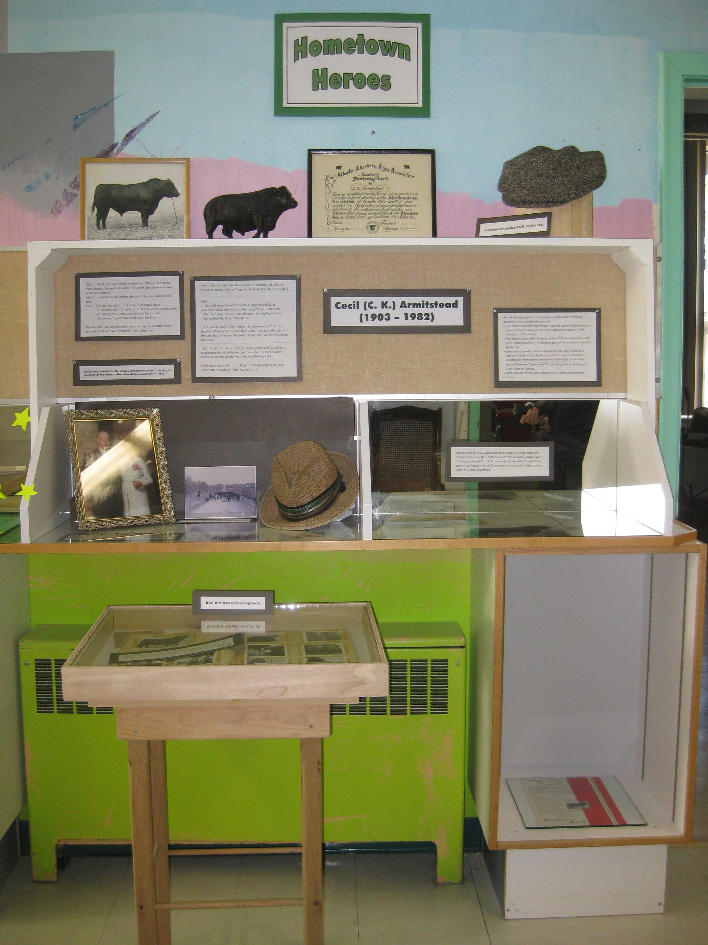 Cecil Armitstead display